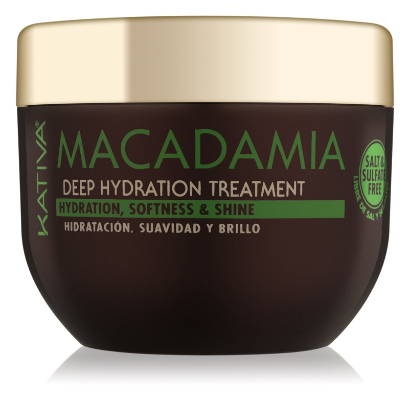 Kativa KATIVA Macadamia Regenerating And Moisturizing Mask for All Hair Types
