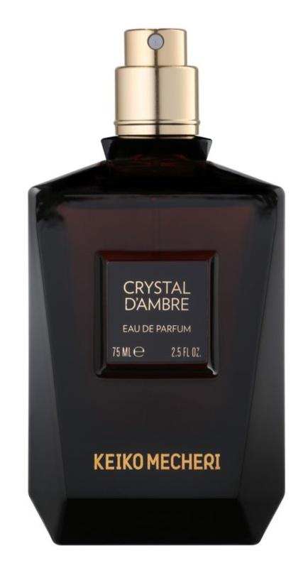 Keiko Mecheri Crystal d´Ambre Parfumovaná voda tester pre ženy 75 ml