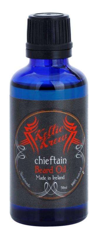 Keltic Krew Chieftain Bart-Öl mit Minze - und Zimtduft