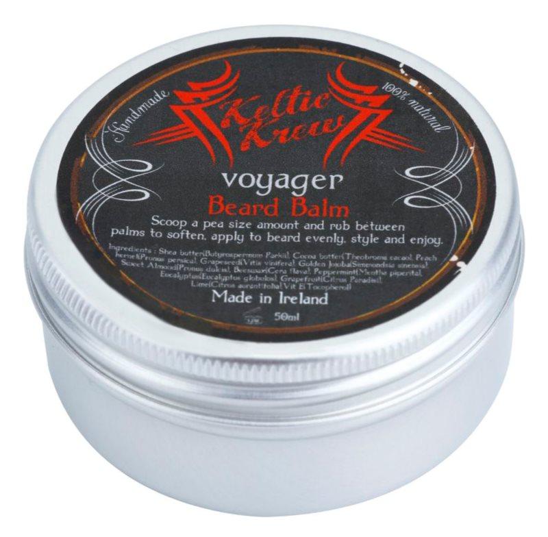Keltic Krew Voyager balzam na fúzy s vôňou eukalyptu