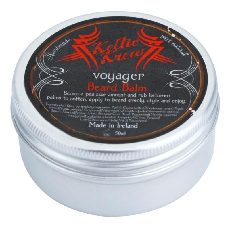 Keltic Krew Voyager balzam za brado z vonjem evkaliptusa