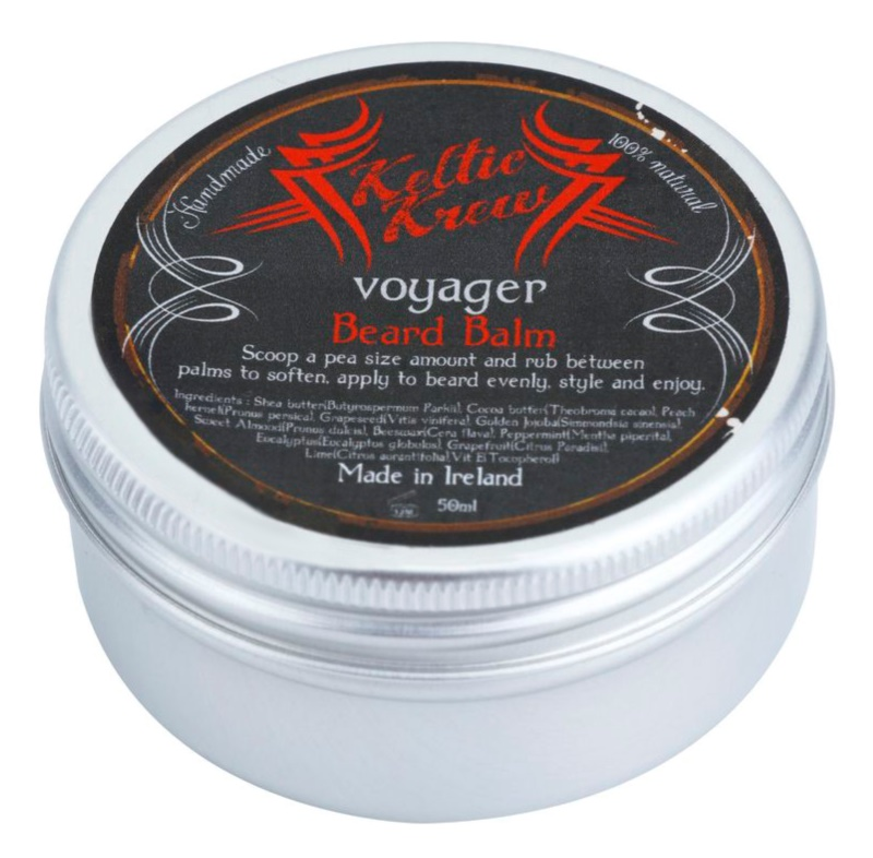 Keltic Krew Voyager Bart-Balsam mit Eukalyptusduft