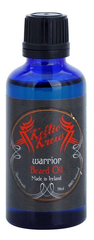 Keltic Krew Warrior olej na vousy s vůní santalového dřeva