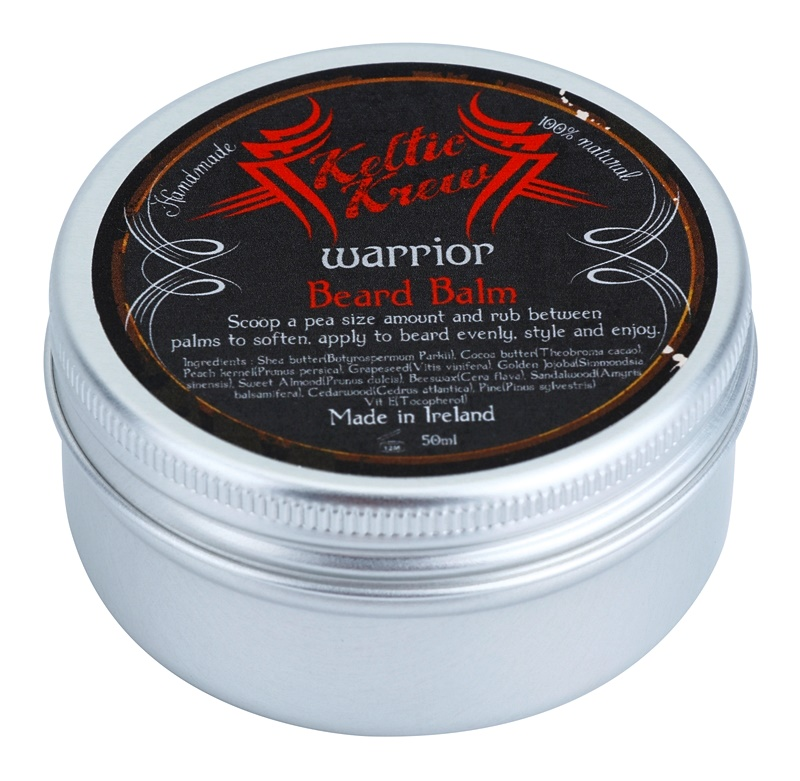 Keltic Krew Warrior bálsamo de sândalo para a barba