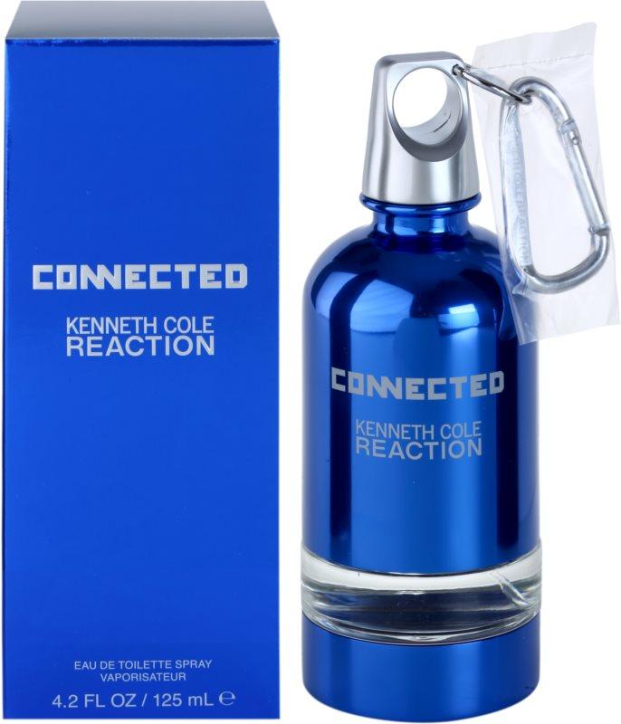 Kenneth Cole Connected Reaction toaletna voda za moške 125 ml