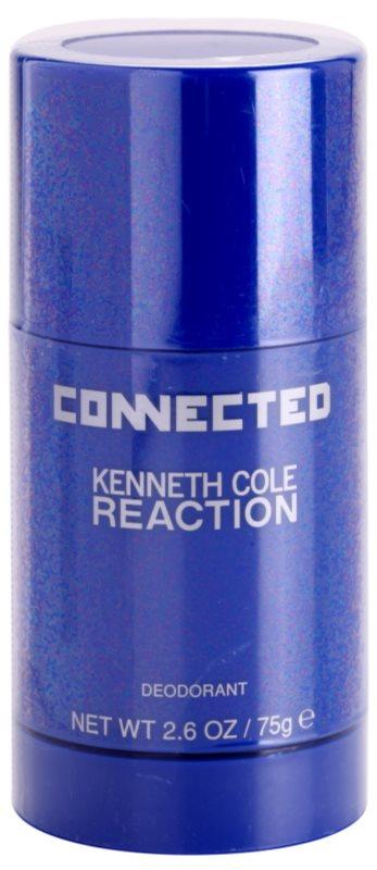 Kenneth Cole Connected Reaction desodorante en barra para hombre 75 g