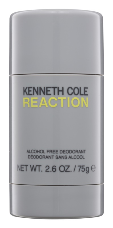 Kenneth Cole Reaction deo-stik za moške 75 g brez alkohola