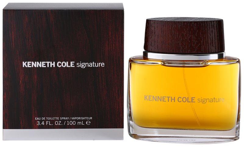 Kenneth Cole Signature Eau de Toilette para homens 100 ml