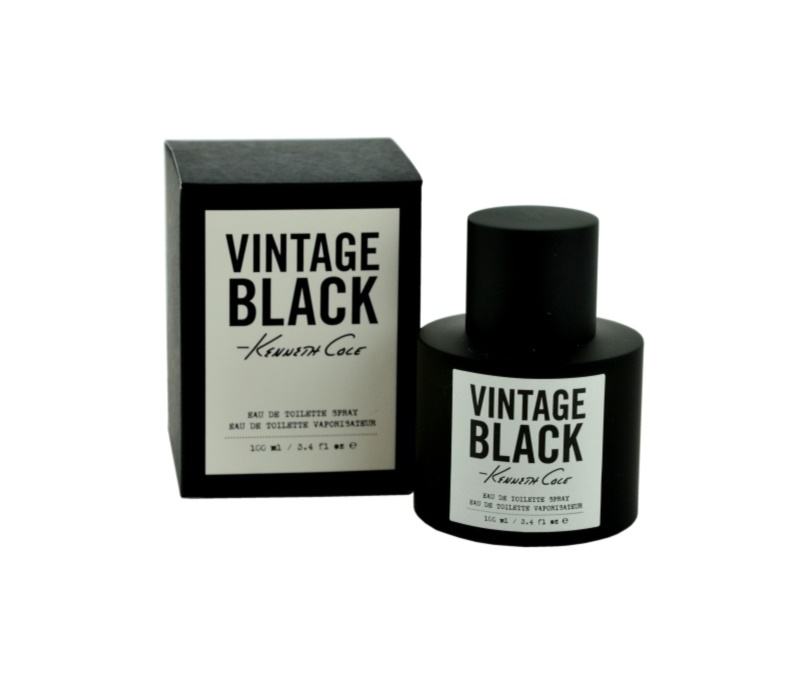 Kenneth Cole Vintage Black Eau de Toilette para homens 100 ml