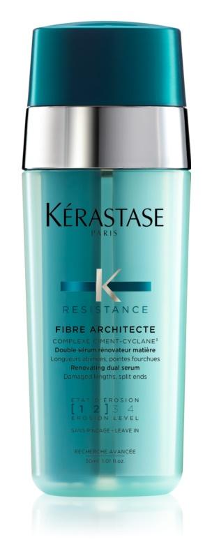 Kérastase Resistance Force Architecte erneuerndes Zwei-Phasen-Serum für beschädigtes Haar und splissige Haarspitzen