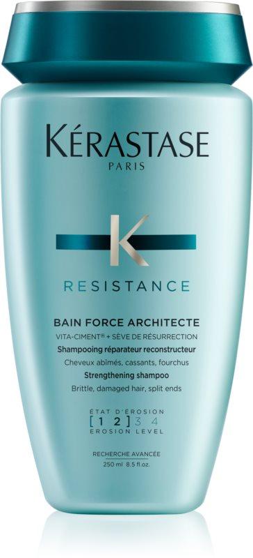 Kérastase Resistance Force Architecte shampoing force pour cheveux fins et légèrement abîmés