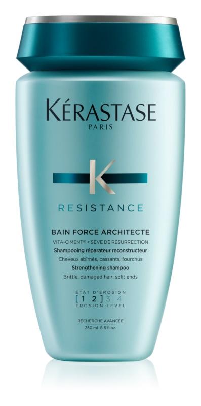 Kérastase Resistance Force Architecte Shampoo  met Versterkende Werking voor Futloos en Licht Beschadigd Haar
