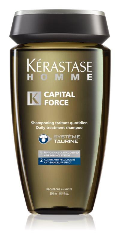 Kérastase Homme Capital Force champú para hombre anticaspa y anticaída