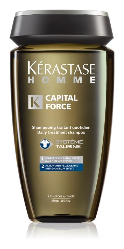 Kérastase Homme Capital Force férfi sampon korpásodás és hajhullás ellen