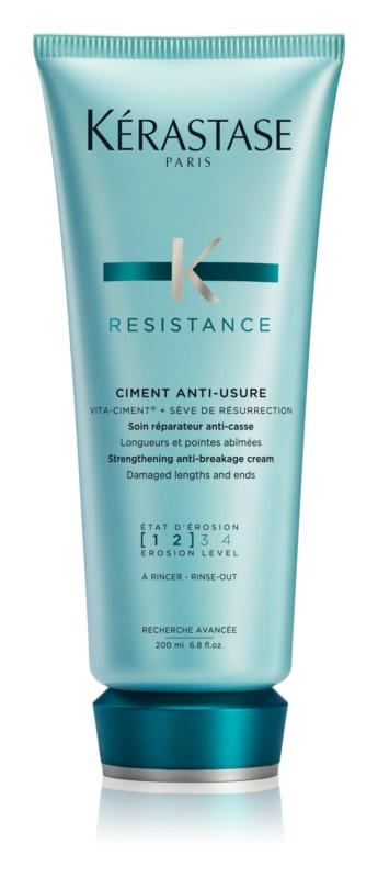 Kérastase Resistance Ciment Anti-Usure intenzív hajerősítő ápolás meggyengült, sérült hajra és töredezett hajvégekre