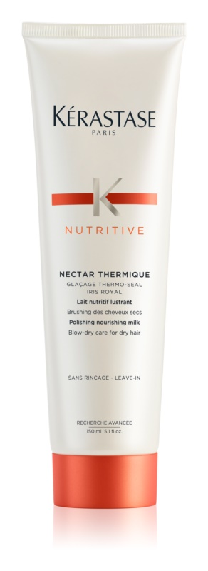 Kérastase Nutritive Nectar Thermique lapte termic protector pentru netezire si hidratare pentru par uscat