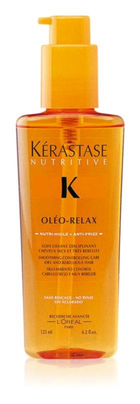 Kérastase Nutritive Oléo-Relax cuidado de alisamento final para um fácil penteado dos cabelos secos e indisciplinados