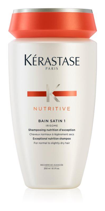 Kérastase Nutritive Bain Satin 1 šampónový kúpeľ pre lesk a ochranu farby normálnych až ľahko citlivých farbených vlasov