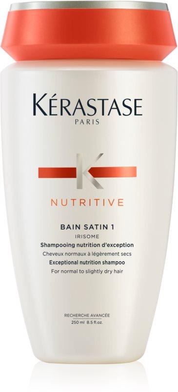 Kérastase Nutritive Bain Satin 1 šamponska kopel za sijaj in zaščito barve normalnih do rahlo poškodovanih barvanih las