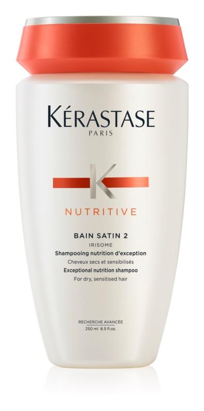 Kérastase Nutritive Bain Satin 2 vyživujúci šampónový kúpeľ pre suché citlivé vlasy