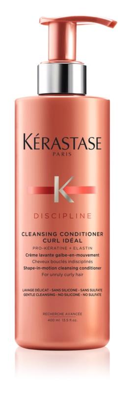 Kérastase Discipline Curl Idéal čistiaci kondicionér pre nepoddajné vlnité a kučeravé vlasy