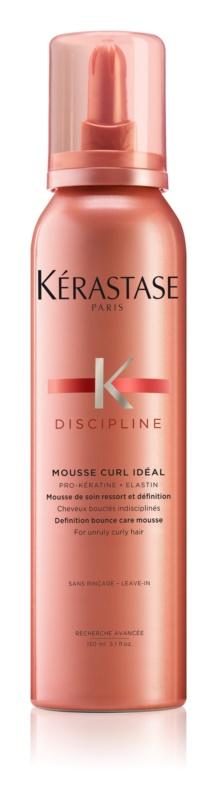 Kérastase Discipline Curl Idéal Schaum für widerspenstiges und krauses Haar