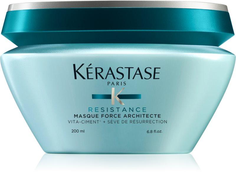 Kérastase Resistance Force Architecte posilňujúca maska pre oslabené, poškodené vlasy a rozštiepené končeky