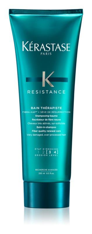 Kérastase Resistance Thérapiste Balm-in-Shampoo for Very-damaged, Over-processed Hair