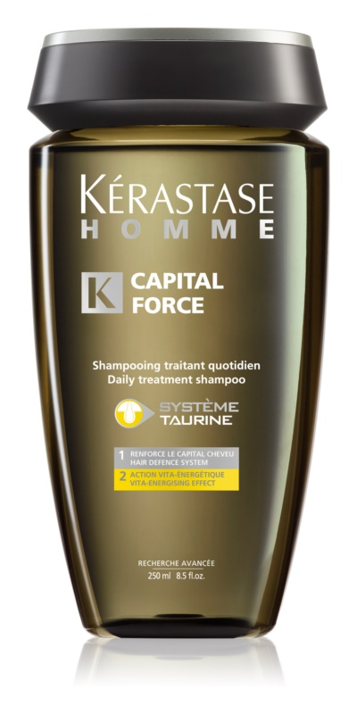 Kérastase Homme Capital Force sampon pentru utilizarea de zi cu zi