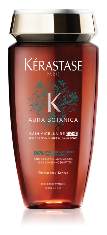 Kérastase Aura Botanica Bain Micellaire Riche Aromatic Shampoo for Dull and Very Dry Hair
