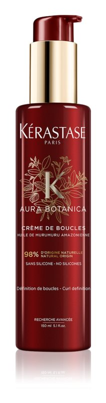 Kérastase Aura Botanica Crème de Boucles krém na kudrnaté vlasy pro definici a tvar