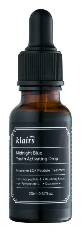 Klairs Midnight Blue aktivační sérum pro omlazení pleti