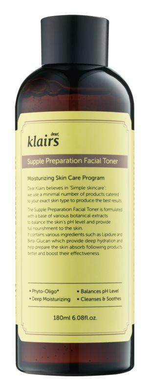 Klairs Supple Preparation hydratační tonikum vyrovnávající pH pleti
