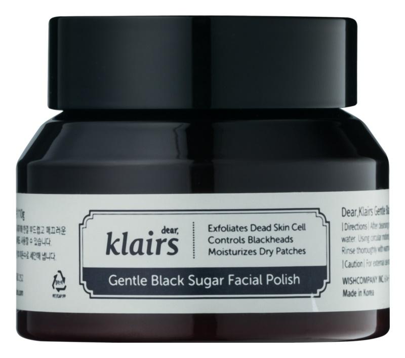 Klairs Gentle Black hydratační pleťový peeling