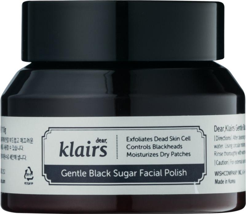 Klairs Gentle Black hydratačný pleťový peeling