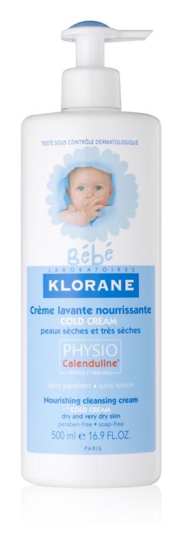Klorane Bébé Cold Cream vyživujúce čistiace mlieko pre suchú až veľmi suchú pokožku