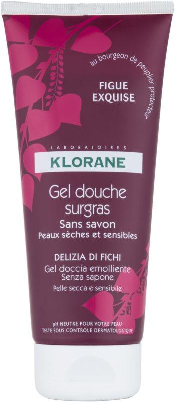 Klorane Fig gel de duche com efeito nutritivo