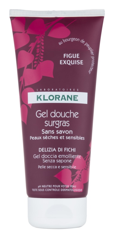 Klorane Fig Shower Gel with Nourishing Effect