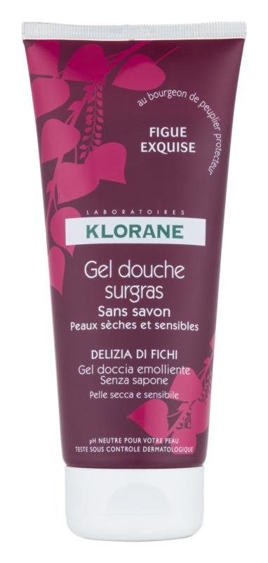 Klorane Figue żel pod prysznic o działaniu odżywczym