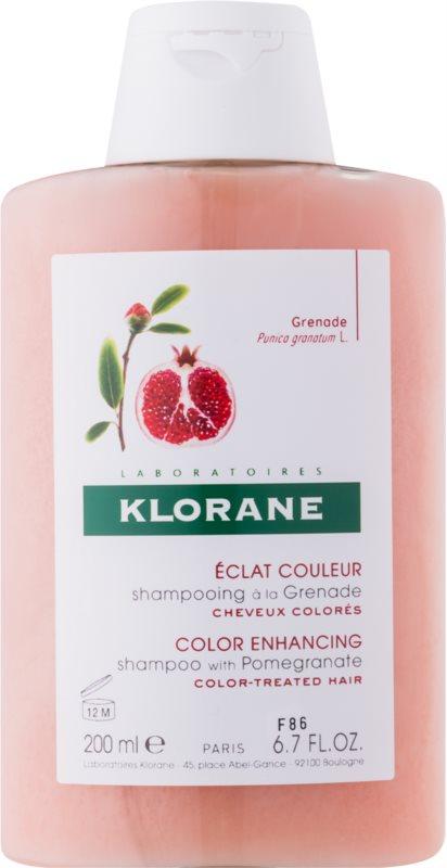 Klorane Pomegranate sampon pentru par vopsit