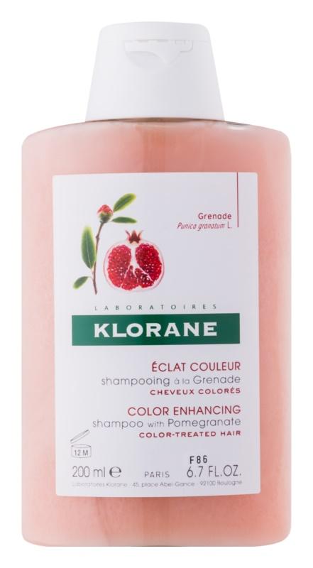 Klorane Pomegranate Shampoo für gefärbtes Haar