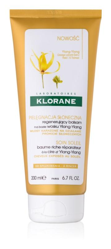 Klorane Ylang-Ylang balsam pentru regenerare pentru par expus la soare