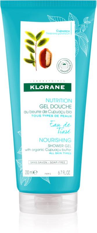 Klorane Cupuacu Extrakt z gardénie vyživující sprchový gel
