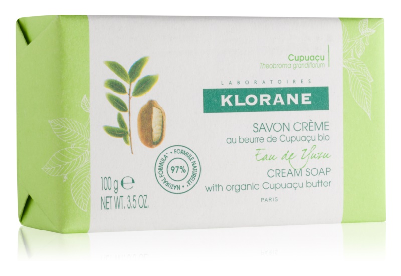 Klorane Cupuaçu Extrakt z yuzu mýdlo