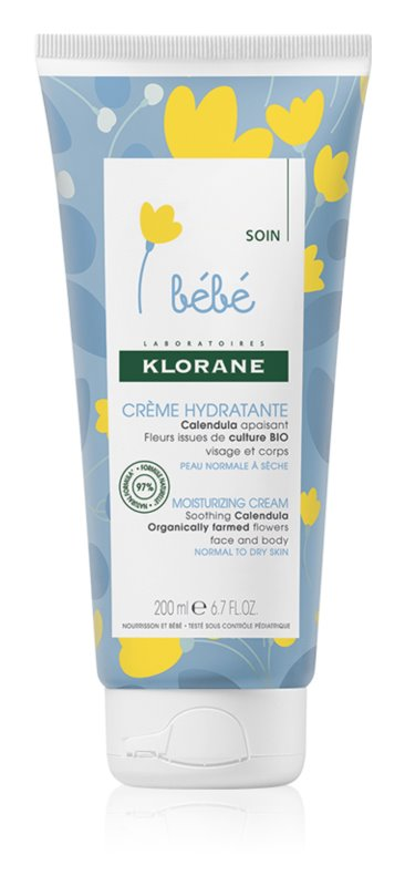 Klorane Bébé Calendula Face and Body Moisturizer for Kids