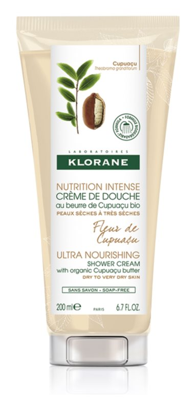 Klorane Cupuaçu Fleur de Cupuacu Intensive Nourishing Shower Cream