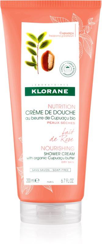 Klorane Cupuaçu Lait de Rose intenzívne hydratačný sprchový krém