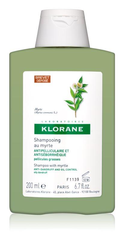 Klorane Myrtle Shampoo To Treat Oily Dandruff