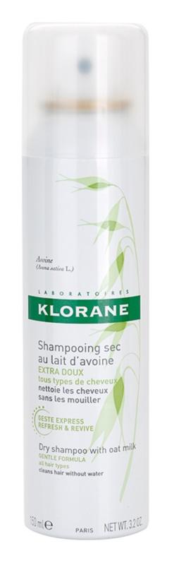 Klorane Oat Milk suchý šampón pre všetky typy vlasov