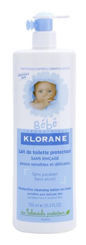 Klorane Bébé leche limpiadora sin aclarado